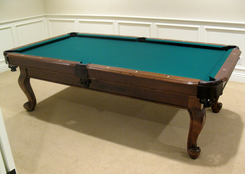 So cal pool tables bermuda pool table - Pool table green felt ...