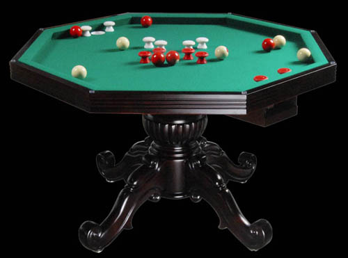 So Cal Pool Tables - Cherry and Honey Poker Tables
