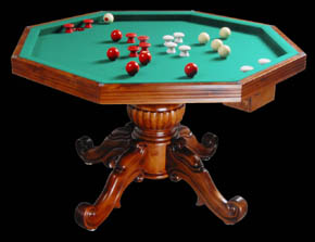 octagon bumper pool table plans